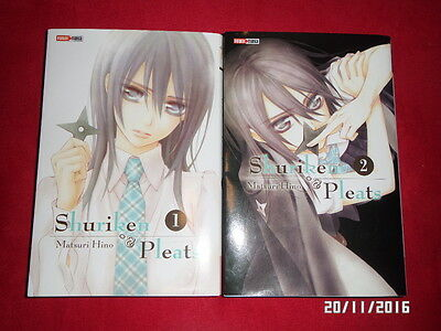 INTEGRALE 2 mangas Shuriken & Pleats - Matsuri Hino 2016 vf
