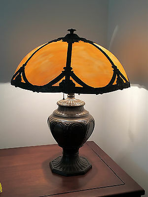 Antique Slag Lamp - Likely Pittsburgh