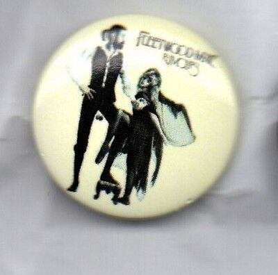 FLEETWOOD MAC Rumours BUTTON BADGE CLASSIC ROCK BAND STEVIE NICKS 25mm