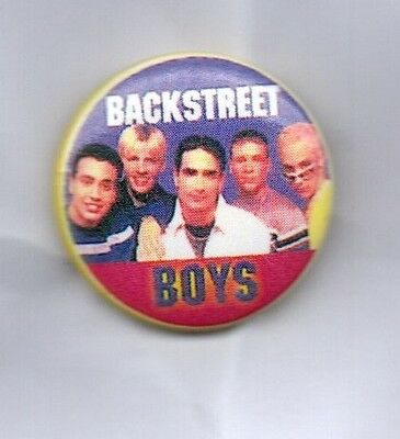 BACKSTREET BOYS BUTTON BADGE American 90s Boy Band - Quit Playing Games 25mm pin