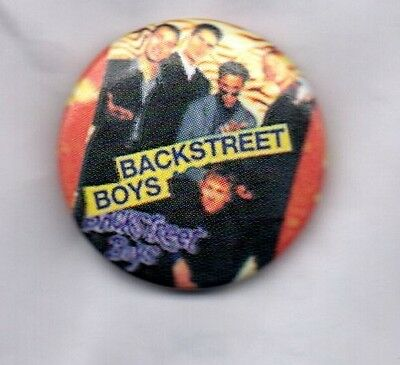 BACKSTREET BOYS BUTTON BADGE American 90s Boy Band Everybody, 25mm Pin