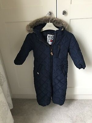 Boys Next Snowsuit All In One 18-24 Months