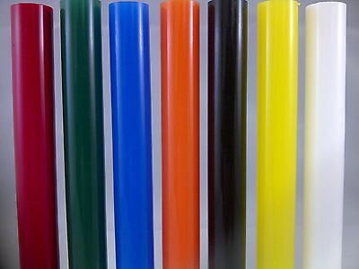 "12.7Mm Dia 1/2"" Diameter Acrylic Perspex Colour Round Rod Red Green Blue Etc Etc"