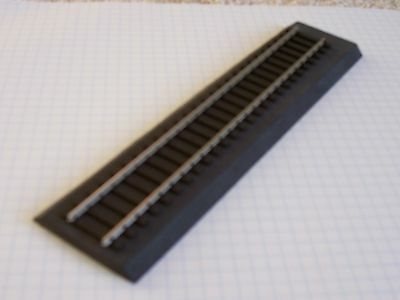 "S Scale 5pcs  1/4"" Black Sound Foam Roadbed (30')(Free Sample) cork replacement"