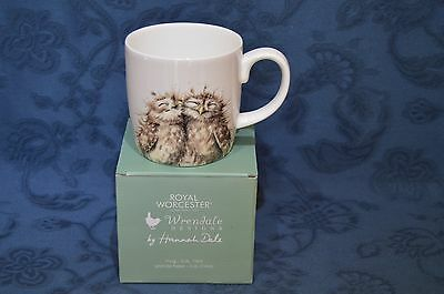 Royal Worcester Wrendale by Hannah Dale The Twits - Owl Mug