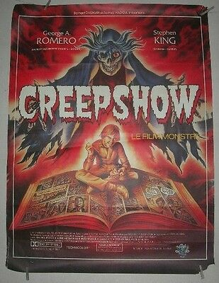Huge Original French 'creepshow'. Film/ Movie Poster, (Stephen King)1983.