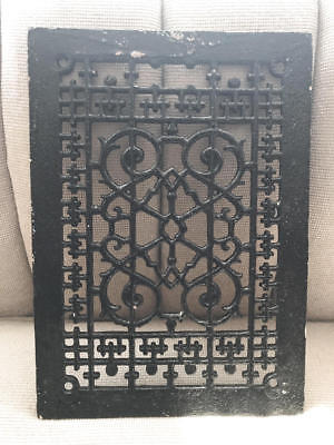 Antique, Vintage Cast Iron Heat Grate Register Cover, Salvage