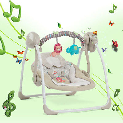 Electric Baby Kid Rocking Chair Cradle Soothing Chair Children's Magic Artifact