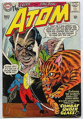 The Atom # 21 1965 DC Silver Age FN- 5.5 All New Atom # 3 VF 8.0 4 VF/NM 9.0 Lot