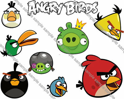 Angry Birds Iron On Transfer