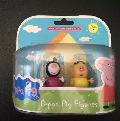 Peppa Pig And Friends Twin Figures Pedro Pony And Zoe Zebra