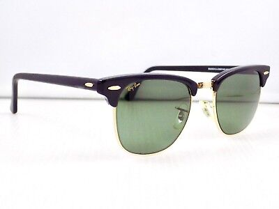 90's B&L Ray Ban Clubmaster W0365 49mm & case