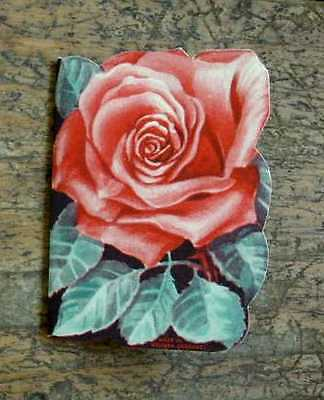 Vintage NEEDLE CASE/Folder, Rose Design STANLEY HOME PRODUCTS Made in W Germany