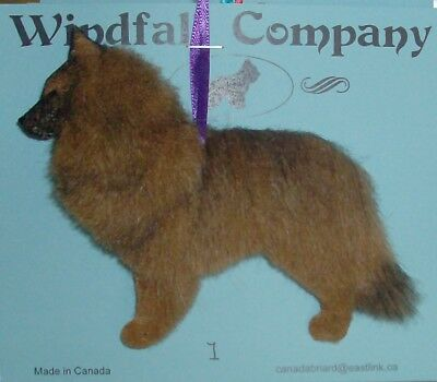 Belgian Tervuren Dog Plush Christmas Canine Ornament # 1 by WC