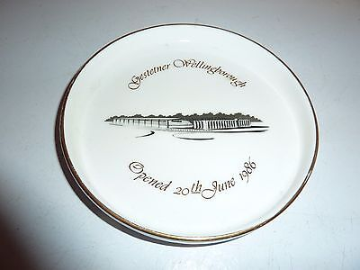 Goss China 13.6Cm Gestetner Wellingborough, Opened 20/6/1986 Commemorative Dish
