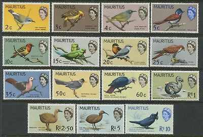 Mauritius QEII 1965 complete set unmounted mint NH