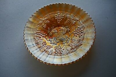 Northwood Grape & Cable Stippled Plate - Marigold