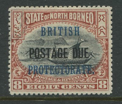 North Borneo KEVII 1903 8 cents Postage Due mint o.g.