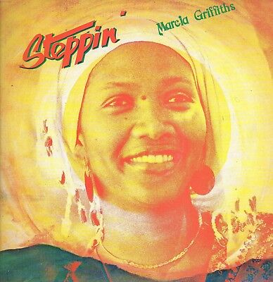 """"""" STEPPIN'. """" marcia griffiths. HIGH NOTE RECORDS UK orig  L.P."""