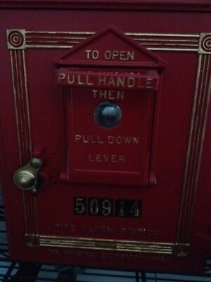 GAMEWELL FIRE ALARM CALL BOX 24 & 51 Style Pull Lever Tension Spring