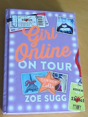 Girl Online On Tour Zoe Sugg SIGNED Book Condition AS  NEW