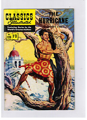 CLASSICS ILLUSTRATED COMIC No. 120 The Hurricane HRN 138 NICE!