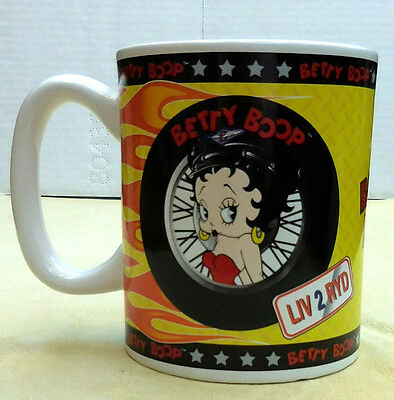 Betty Boop Liv 2 Ryd 20 Oz. Coffee Mug From Vandor Company, Item 11161