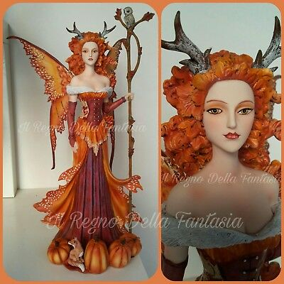 Hadas Fatina Fairy Elfen Fees Fata Pumpkin Queen By Amy Brown No Les Alpes