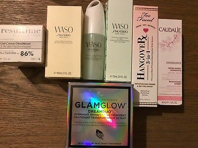 Lot De 7 Soins Glamglow Shiseido Caudalie Resultime Too Faced