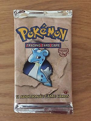 Pokemon - Fossil Booster Pack 1st Edition SEALED/SIGILLATO