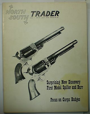 2nd Issue of North South Trader Magazine Vol. 1 No.2 May 1973 Civil War Relics