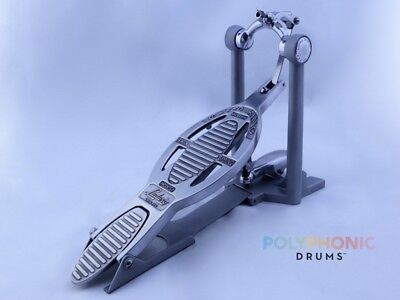 SUPER ludwig speed king vintage chicago bass drum pedal; L-201, WFL, restored NR
