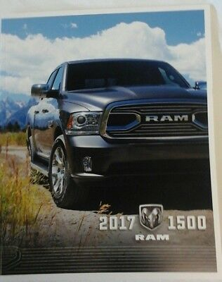 2017 Dodge RAM 1500 70-page Original Sales Brochure