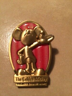 Disney Pin 32228 DCL Cruise Line Golden Mickey