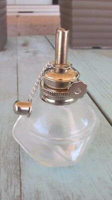 "Alcohol Glass Lamp Burner  With 3/16"" Adjustable Wick"