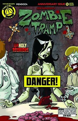 Zombie Tramp Ongoing #13 Risque Mendoza Variant Cover Danger Zone 2015