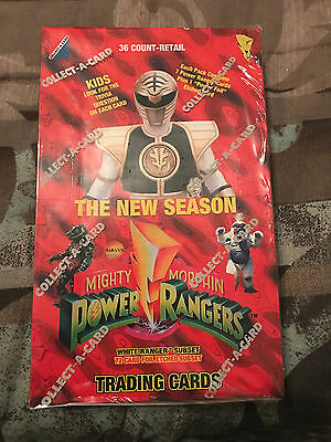Sealed Mighty Morphin Power Rangers Trading Cards Box