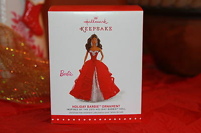 2015 Hallmark Ornament, African American Holiday Barbie,1st in Series
