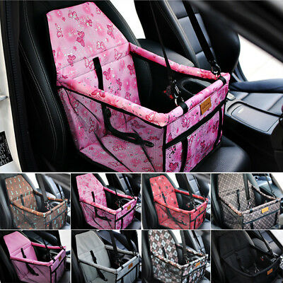 Pet Car Seat Folding Dog Travel Booster Durable Bag Cat Puppy Carrier Belt Cover