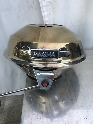 """Magma 14"""" BBQ Grill Stainless Steel with Bag -- Used"""