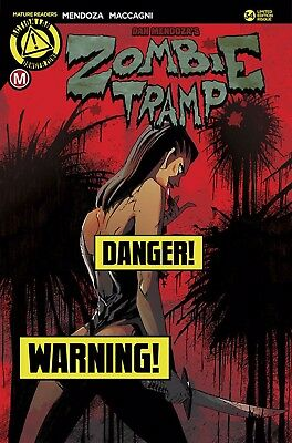 Zombie Tramp Ongoing #34 Maccagni Risque Cover Danger Zone 2017