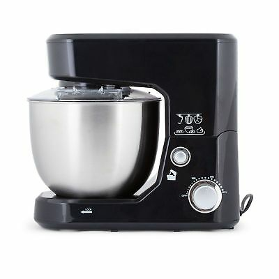 Stand Mixer 1000W Electric Food Processor Benchtop Dough Hook Whisk Beater Black