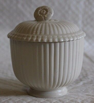 Leeds Pottery Creamware 9cm Covered Bowl