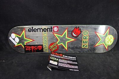 Skateboard Deck Zero 7.8 Spitfire Element Plan B Independent Santa Cruz Grizzly