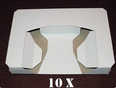 10x New N64 Nintendo 64 Game Tray Inserts White Replacement Reproduction Insert