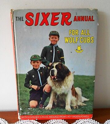 The Sixer Annual For All Wolf Cubs 1966 Golden Jubilee Year