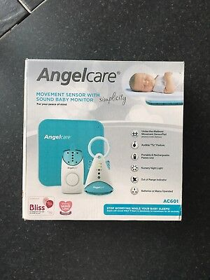 Angelcare movement sensor with sound baby monitor - Brand new unused