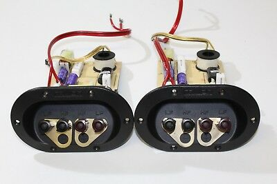 Pair Of Mission MX-1 Speaker Crossovers + Binding Posts/Connectors/Terminals