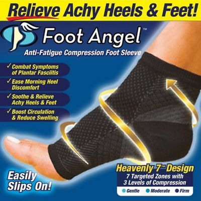 Professional Sport Foot Angle Anti-Fatigue Compression Foot Sleeve Sock ZZ