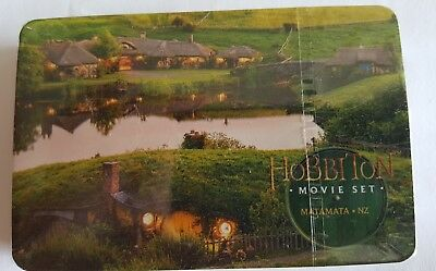 The hobbit movie set playing cards
